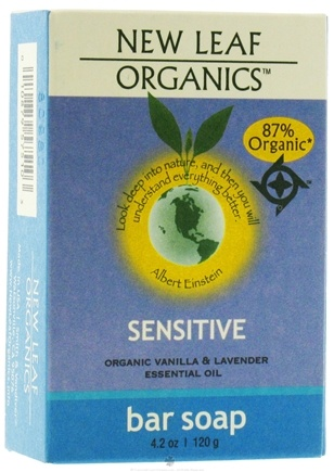 DROPPED: New Leaf Organics - Bar Soap Sensitive - 4.2 oz.