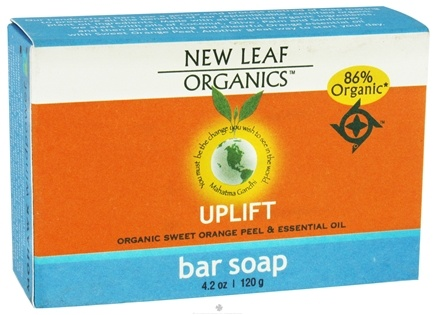 DROPPED: New Leaf Organics - Bar Soap Uplift - 4.2 oz. CLEARANCE PRICED