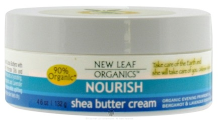 DROPPED: New Leaf Organics - Shea Butter Cream Nourish - 4.6 oz.