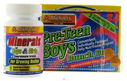 DROPPED: Michael's Naturopathic Programs - Pre-Teen Boys Bunch Box