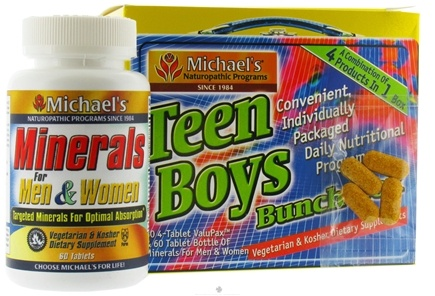 DROPPED: Michael's Naturopathic Programs - Teen Boys Bunch Box