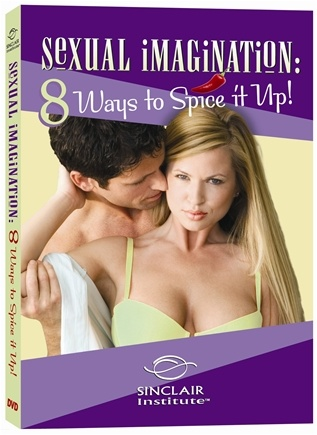 DROPPED: Sinclair Institute - Sexual Imagination: 8 Ways To Spice It Up! - 1 DVD(s)