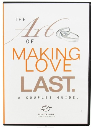 DROPPED: Sinclair Institute - The Art of Making Love Last: A Couples Guide - 1 DVD(s)