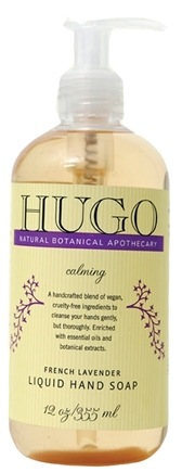 DROPPED: Hugo Naturals - Liquid Hand Soap Calming French Lavender - 12 oz.