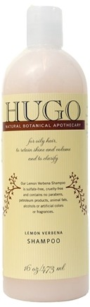 DROPPED: Hugo Naturals - Shampoo For Oily Hair Lemon Verbena - 16 oz.