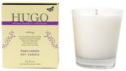 DROPPED: Hugo Naturals - Soy Candle Calming French Lavender - CLEARANCE PRICED