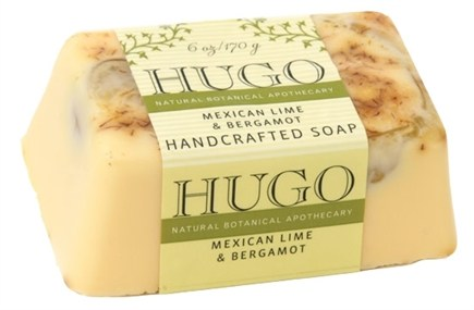DROPPED: Hugo Naturals - Handcrafted Bar Soap Mexican Lime & Bergamot - 6 oz.