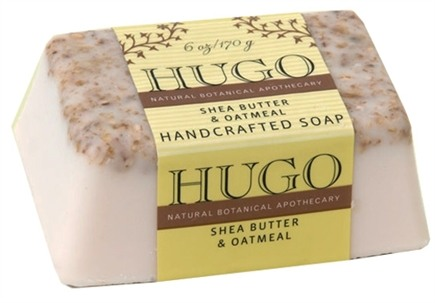 DROPPED: Hugo Naturals - Handcrafted Bar Soap Shea Butter & Oatmeal - 6 oz.