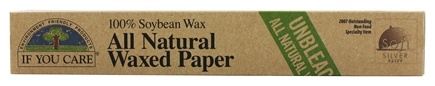 If You Care - All Natural Waxed Paper 100% Unbleached - 75 ft.