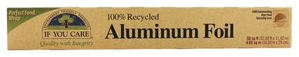If You Care - 100% Recycled Aluminum Foil - 50 ft.