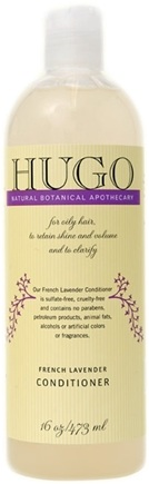 DROPPED: Hugo Naturals - Conditioner For A Healthy Balanced Scalp French Lavender - 16 oz. CLEARANCE PRICED