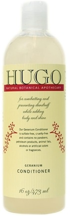 DROPPED: Hugo Naturals - Conditioner For Chemically Treated Hair Geranium - 16 oz. CLEARANCE PRICED