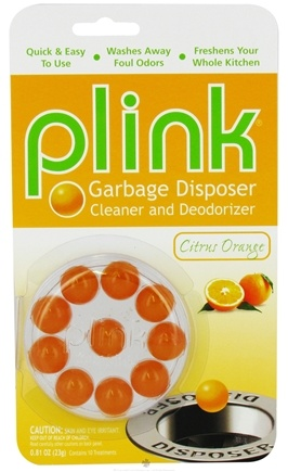 DROPPED: Phelps Industries - Plink Garbage Disposal Cleaner and Deodorizer Citrus Orange - 10 Insert(s) CLEARANCE PRICED