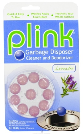 DROPPED: Phelps Industries - Plink Garbage Disposal Cleaner and Deodorizer Lavender - 10 Insert(s) CLEARANCE PRICED