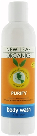 DROPPED: New Leaf Organics - Body Wash Purify - 8.1 oz.