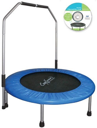 """DROPPED: Corey Everson - Cory Everson 40"""" Jogging Trampoline with handle"""