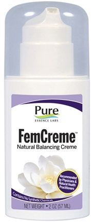 DROPPED: Pure Essence Labs - FemCreme Natural Progesterone Pump - 2 oz.