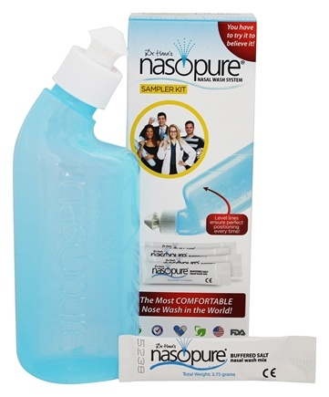 DROPPED: Nasopure - Sampler Kit Nasal Wash System - CLEARANCE PRICED