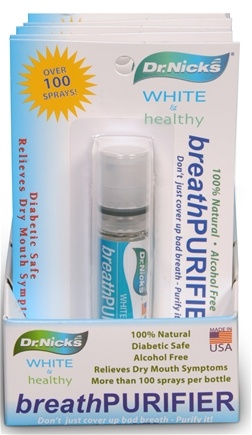DROPPED: Dr. Nick's - White & Healthy Breath Purifier - 3 oz. CLEARANCE PRICED