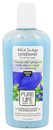 DROPPED: Pure Life Soap Co. - Conditioner Wild Indigo - 15 oz. CLEARANCE PRICED