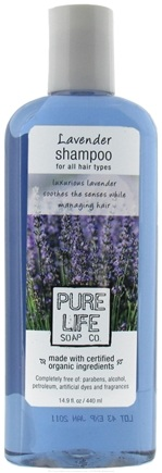 DROPPED: Pure Life Soap Co. - Shampoo Lavender - 14.9 oz. CLEARANCE PRICED