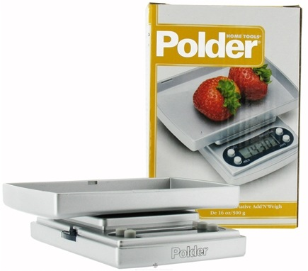 DROPPED: Polder - Add N Weigh Digital Food Scale Pocket Sized