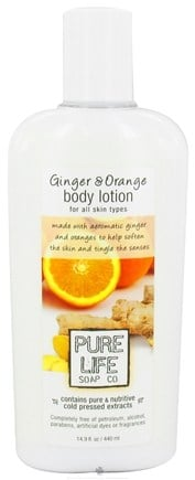 DROPPED: Pure Life - Body Lotion Ginger & Orange - 14.9 oz. CLEARANCE PRICED