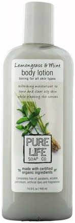 DROPPED: Pure Life - Body Lotion Lemongrass & Mint - 14.9 oz. CLEARANCE PRICED