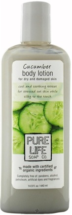 DROPPED: Pure Life Soap Co. - Cucumber Body Lotion - 14.9 oz. CLEARANCE PRICED
