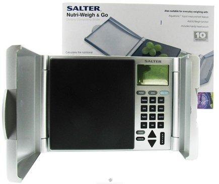 DROPPED: Salter - Nutri-Weigh & Go Dietary Computing Scale - CLEARANCE PRICED