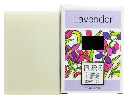 Pure Life Soap Co. - Bar Soap Lavender - 4.4 oz.
