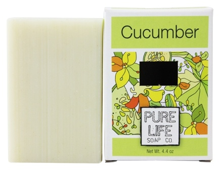 Pure Life Soap Co. - Bar Soap Cucumber - 4.4 oz.