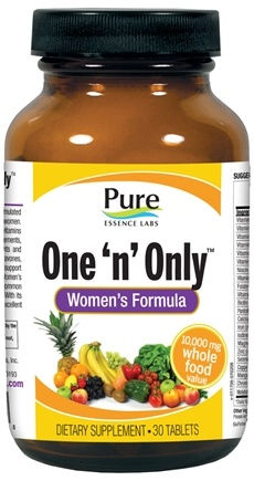 DROPPED: Pure Essence Labs - One 'n' Only Women - 30 Tablets