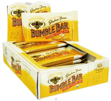 DROPPED: Bumble Bar - Organic Sesame Bar Gluten Free Original Peanut - 1.4 oz.