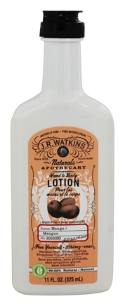 DROPPED: JR Watkins - Naturals Apothecary Hand & Body Lotion Mango - 11 oz.
