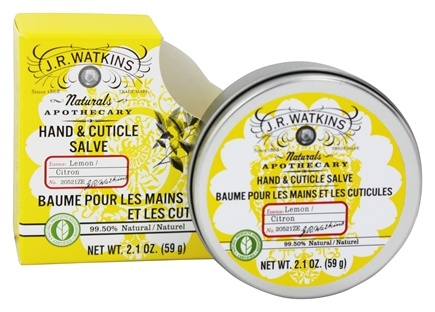 DROPPED: JR Watkins - Naturals Apothecary Hand & Cuticle Salve Lemon - 2.1 oz.