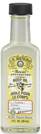 DROPPED: JR Watkins - Natural Apothecary Body Oil Lemon - 2 oz.