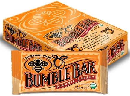 DROPPED: Bumble Bar - Organic Energy Bar Awesome Apricot - 1.4 oz.