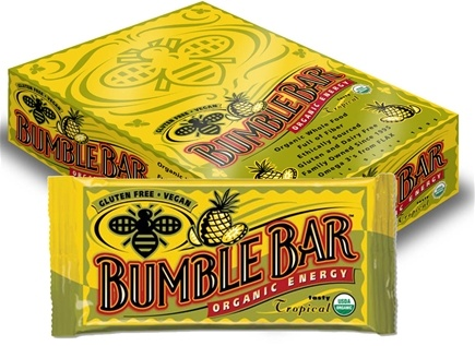 DROPPED: Bumble Bar - Organic Energy Bar Tasty Tropical - 1.4 oz.