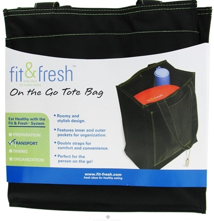 DROPPED: Fit & Fresh - On The Go Tote Bag