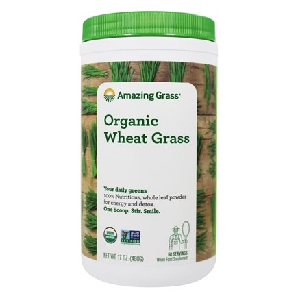 Amazing Grass - Wheat Grass Powder 60 Servings - 17 oz. LUCKY PRICE