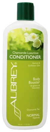 Aubrey Organics - Conditioner Luxurious Body Booster Chamomile Tea - 11 oz.