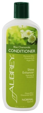 Aubrey Organics - Conditioner Shine Enhancer Blue Chamomile - 11 oz.