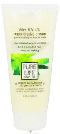 DROPPED: Pure Life - Aloe & Vit. E Regenerative Cream - 6.8 oz. CLEARANCE PRICED