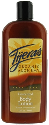 DROPPED: Tijeras Organic Alchemy - Body Lotion Unscented - 12 oz. CLEARANCE PRICED