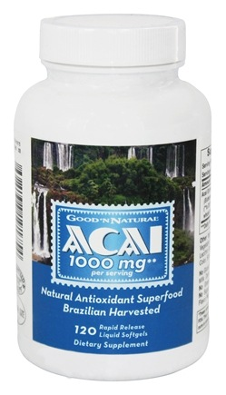Good 'N Natural - Acai 1000 mg. - 120 Softgels