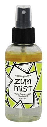 Indigo Wild - Zum Mist Room/Body Spray Lemongrass - 4 oz.