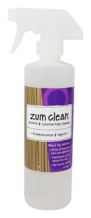 Indigo Wild - Zum Clean Granite and Countertop Cleaner Frankincense & Myrrh - 16 oz.