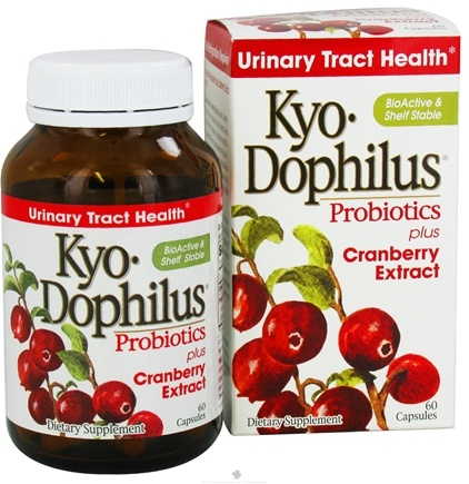 Kyolic - Kyo-Dophilus Probiotics Plus Cranberry Extract - 60 Capsules Formerly CranLogic