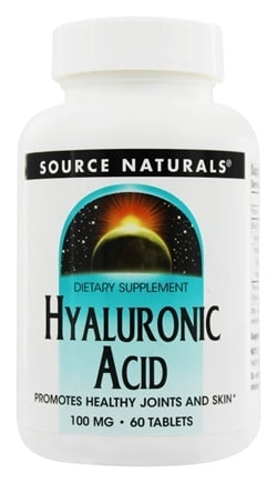 Source Naturals - Hyaluronic Acid 100 mg. - 60 Tablets